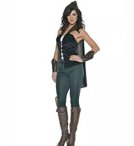 Underwraps Women's Sexy Robin Hood Costume